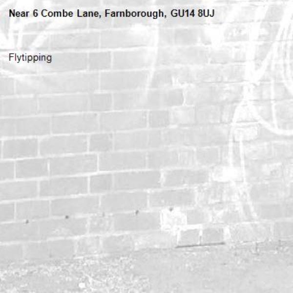 Flytipping -6 Combe Lane, Farnborough, GU14 8UJ