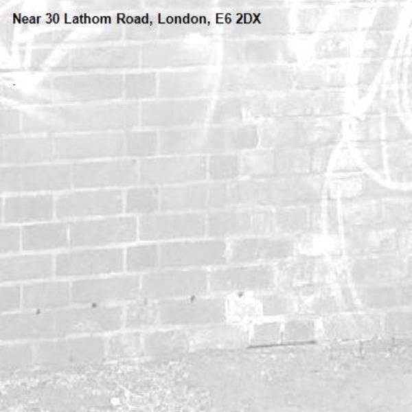 .-30 Lathom Road, London, E6 2DX