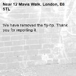 We have removed the fly-tip. Thank you for reporting it.-12 Mavis Walk, London, E6 5TL