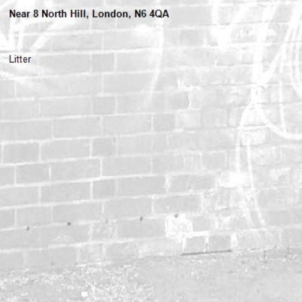 Litter-8 North Hill, London, N6 4QA