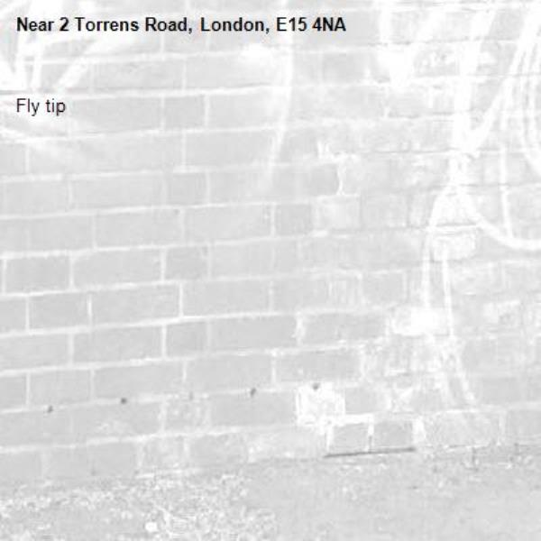 Fly tip-2 Torrens Road, London, E15 4NA