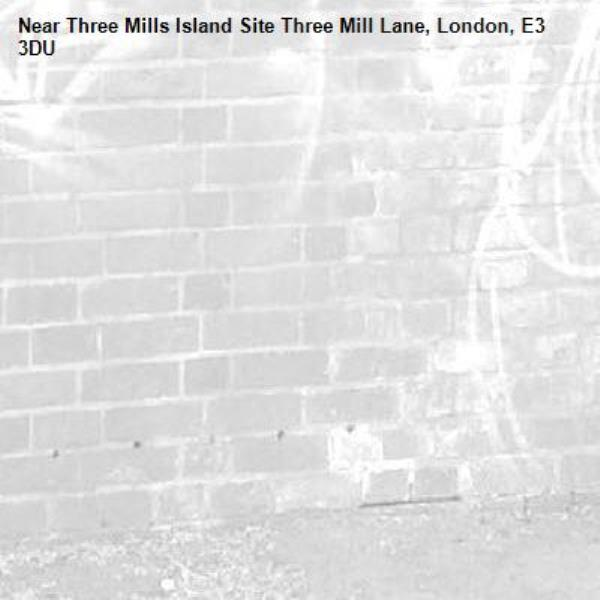 -Three Mills Island Site Three Mill Lane, London, E3 3DU