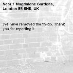We have removed the fly-tip. Thank you for reporting it.-1 Magdalene Gardens, London E6 6HS, UK
