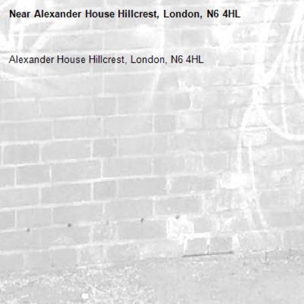Alexander House Hillcrest, London, N6 4HL-Alexander House Hillcrest, London, N6 4HL