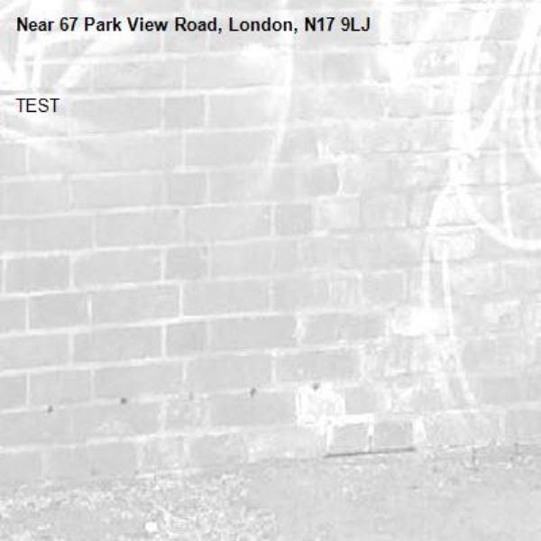 TEST-67 Park View Road, London, N17 9LJ