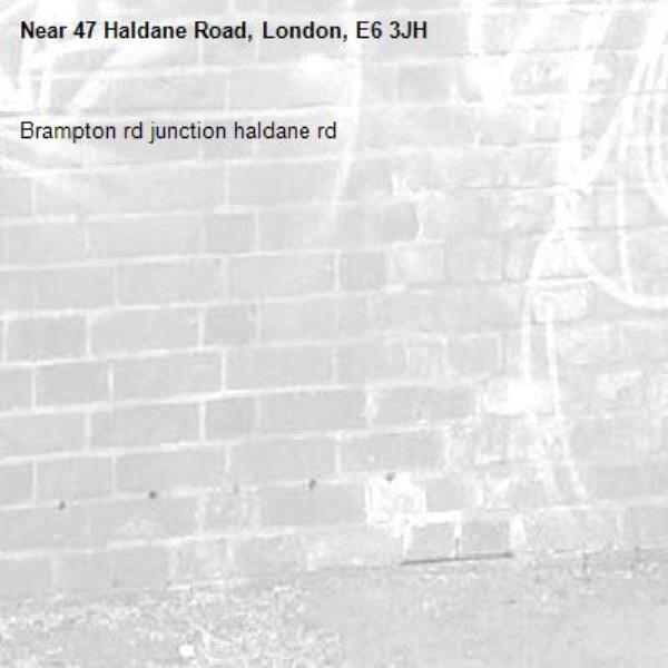 Brampton rd junction haldane rd-47 Haldane Road, London, E6 3JH