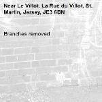 Branches removed-Le Villot, La Rue du Villot, St. Martin, Jersey, JE3 6BN