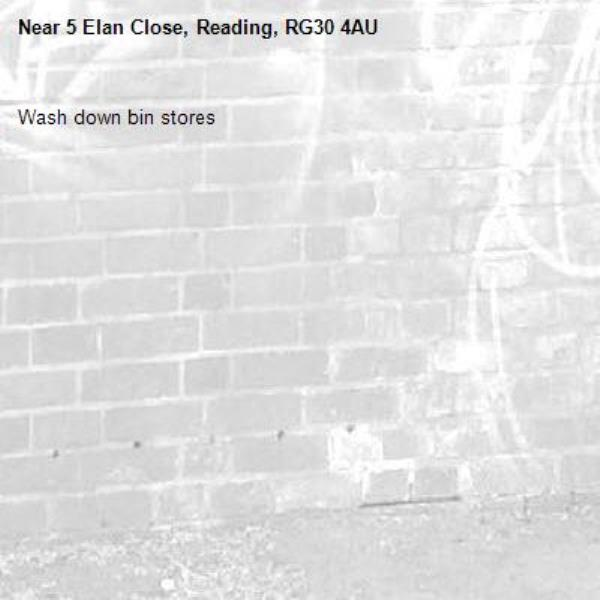 Wash down bin stores-5 Elan Close, Reading, RG30 4AU