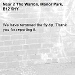 We have removed the fly-tip. Thank you for reporting it.-2 The Warren, Manor Park, E12 5HY