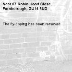 The fly-tipping has been removed.-67 Robin Hood Close, Farnborough, GU14 8UD
