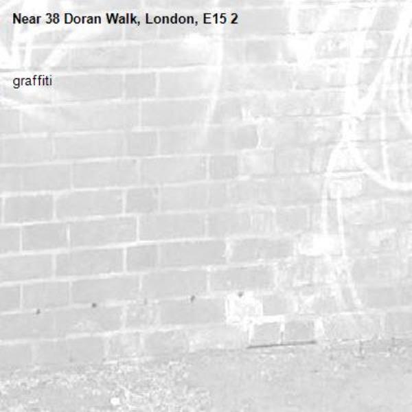 graffiti-38 Doran Walk, London, E15 2