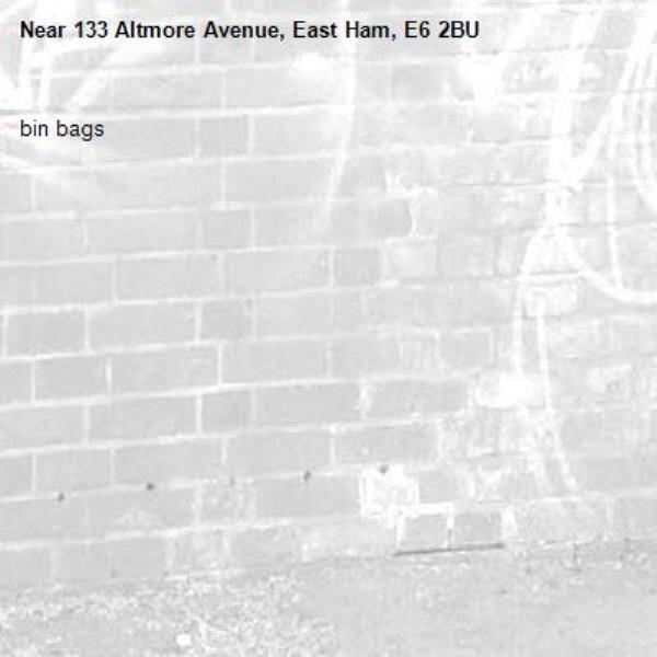 bin bags-133 Altmore Avenue, East Ham, E6 2BU