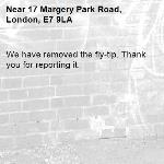 We have removed the fly-tip. Thank you for reporting it.-17 Margery Park Road, London, E7 9LA