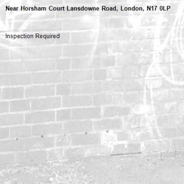 Inspection Required-Horsham Court Lansdowne Road, London, N17 0LP