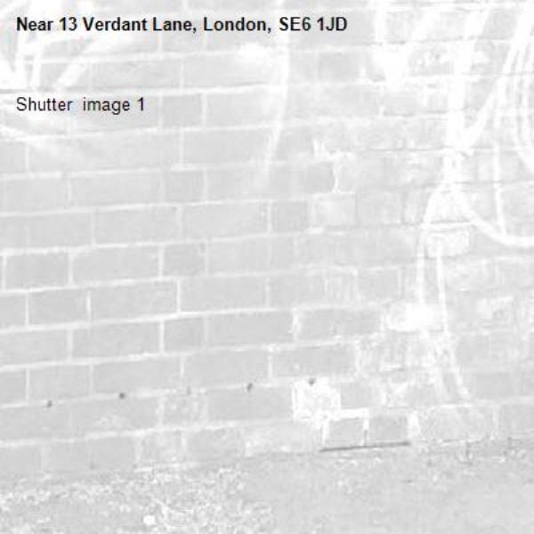 Shutter  image 1-13 Verdant Lane, London, SE6 1JD