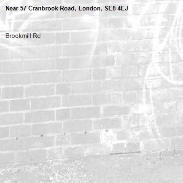 Brookmill Rd -57 Cranbrook Road, London, SE8 4EJ