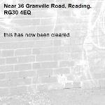 this has now been cleared.-36 Granville Road, Reading, RG30 4EQ