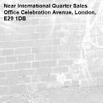 -International Quarter Sales Office Celebration Avenue, London, E20 1DB