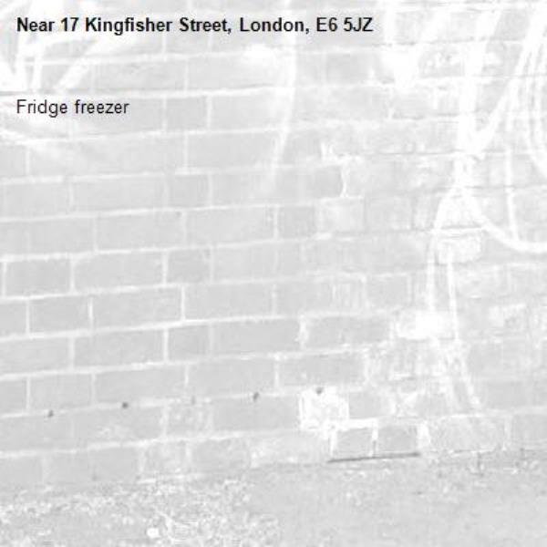 Fridge freezer-17 Kingfisher Street, London, E6 5JZ