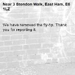 We have removed the fly-tip. Thank you for reporting it.-3 Stondon Walk, East Ham, E6 1LZ