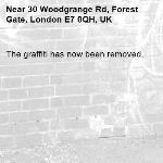 The graffiti has now been removed.-30 Woodgrange Rd, Forest Gate, London E7 0QH, UK