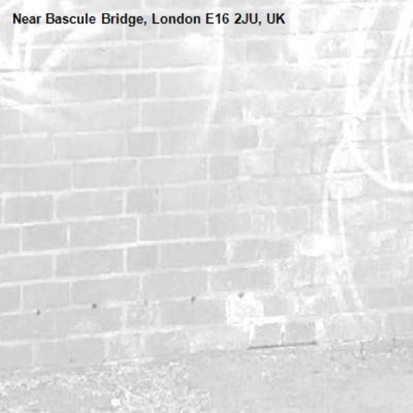-Bascule Bridge, London E16 2JU, UK