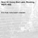 this has now been cleared.-66 Honey End Lane, Reading, RG30 4EQ