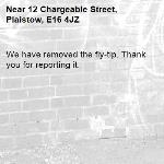 We have removed the fly-tip. Thank you for reporting it.-12 Chargeable Street, Plaistow, E16 4JZ